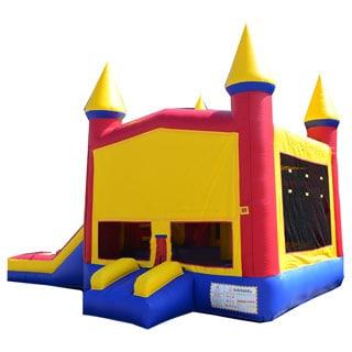 JumpOrange Rainbow Xtreme Wet/ Dry Bouncy House and Slide