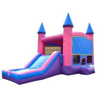 JumpOrange Princess Xtreme Wet/Dry Bouncy House and Slide