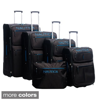 Nautica 'Maritime II' 5-piece Luggage Set