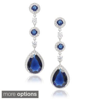 Journee Collection Cubic Zirconia Drop Earrings