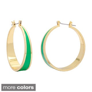 Alexa Starr Epoxy Hoop Earrings