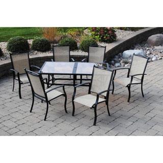 Sun Casual Galina 7-piece Outdoor Dining Set