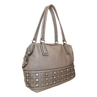 Lithyc 'Kelcie' Medium Sparkle Satchel