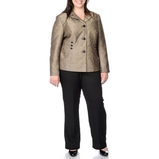 Danillo Women's Plus 2-piece Pant Suit