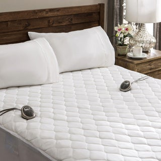 Sunbeam Waterproof King-size Heated Electric Mattress Pad