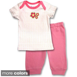 Spencer's Girls' Lap Tee and Pants Set