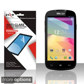 BasAcc Clear/ Anti-Glare Fingerprint Free Screen Protector for BLU Dash 4.5 D310