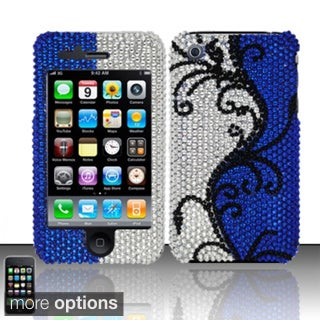 BasAcc Diamond Beads Shinny Design Hard Case Cover for Apple iPhone 3G/ 3GS