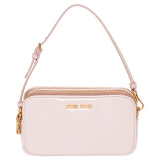 Miu Miu 'Vernice' Pink Patent Leather Mini Bag