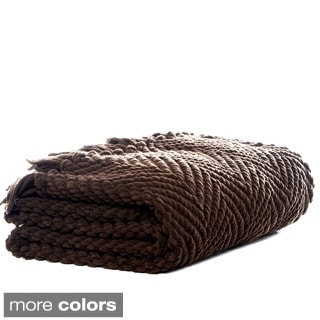 Eddie Bauer Chenille Herringbone Throw