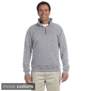 Men's 50/50 Super Sweats NuBlend Fleece Quarter-zip Pullover