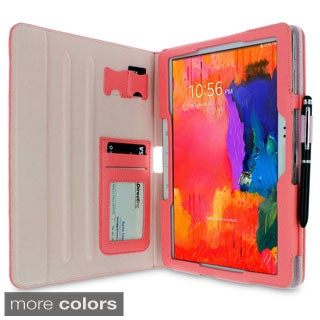 rooCASE Dual View Folio Case Cover with Stylus for Samsung Galaxy Tab Pro 10.1 / Note 10.1 Folio Cas