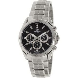 Casio Men's Edifice EF544D-1AV Stainless Steel Watch