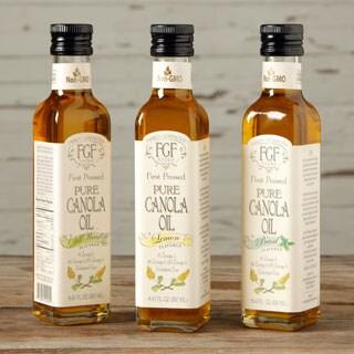 Family Generation Foods All-natural Canola Oil Sampler (Pack of 3)