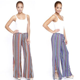 Women's Floral Printed Slit Pants (India)