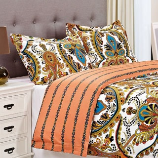 Sudden 300 Thread Count Cotton 3-piece Duvet Cover Set