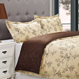 Woodhaven Cotton 300 Thread Count 3-piece Duvet Cover Set