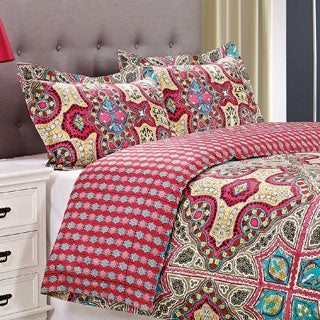 Wildberry Cotton 300 Thread Count 3-piece Duvet Cover Set