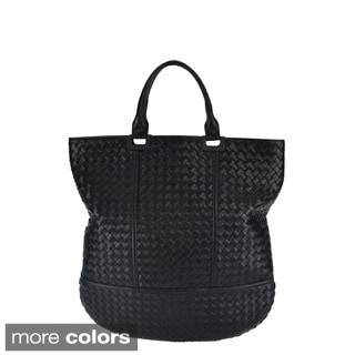 Bottega Veneta '73 Grande' Nappa Leather Shopper Handbag