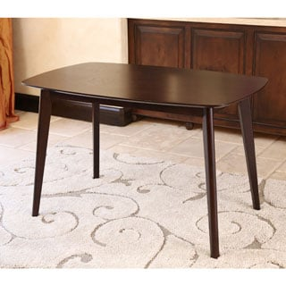 ABBYSON LIVING Bermuda Cappucino Wood Dining Table
