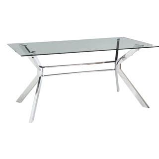 Sunpan Tista Glass Dining Table