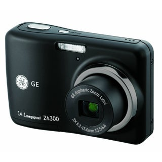 GE Z4300-BK 14.1MP Black Digital Camera