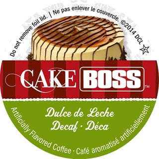Buddy's Cake Boss Dulce De Leche 'Decaf' Single Serve Coffee K-Cups