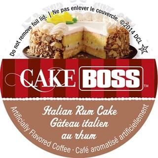 Buddy's Cake Boss Italian Rum Cake Single Serve Coffee K-Cups