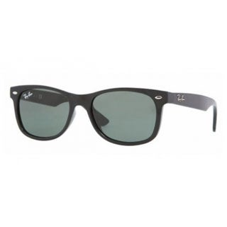 Ray Ban Junior 'RJ9052S' Matte Black Wayfarer Sunglasses