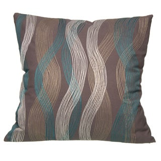 20 x 20-inch Seego Charcoal Decorative Pillow