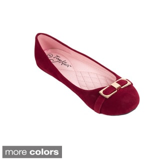 Women's Buckled Eternity Ballet Flats