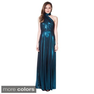 Von Ronen New York Women's Long Metallic Transformer Dress One Size Fits 0-12 (One Size Fits 0-12)