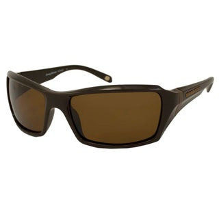 Tommy Bahama Men's TB6007 Polarized/ Wrap Sunglasses