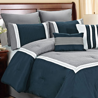 Fashion Street Giornali 8-piece Comforter Set