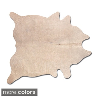 Natural by Lifestyle Brands Geneva Cowhide Area Rug (6' x 7')