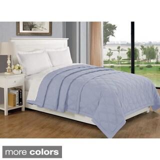 Solid Color Hypoallergenic Blanket
