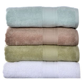 Laura Ashley Leyton Zero Twist 3-piece Towel Set