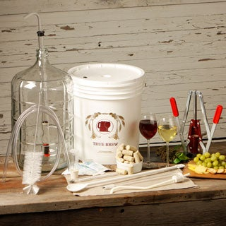 Deluxe Glass Wine Making Equipment Kit