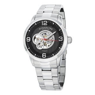 Stuhrling Original Men's Automatic Skeleton Watch