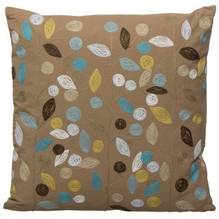 20 x 20-inch Swallow Decorative Pillow (India)