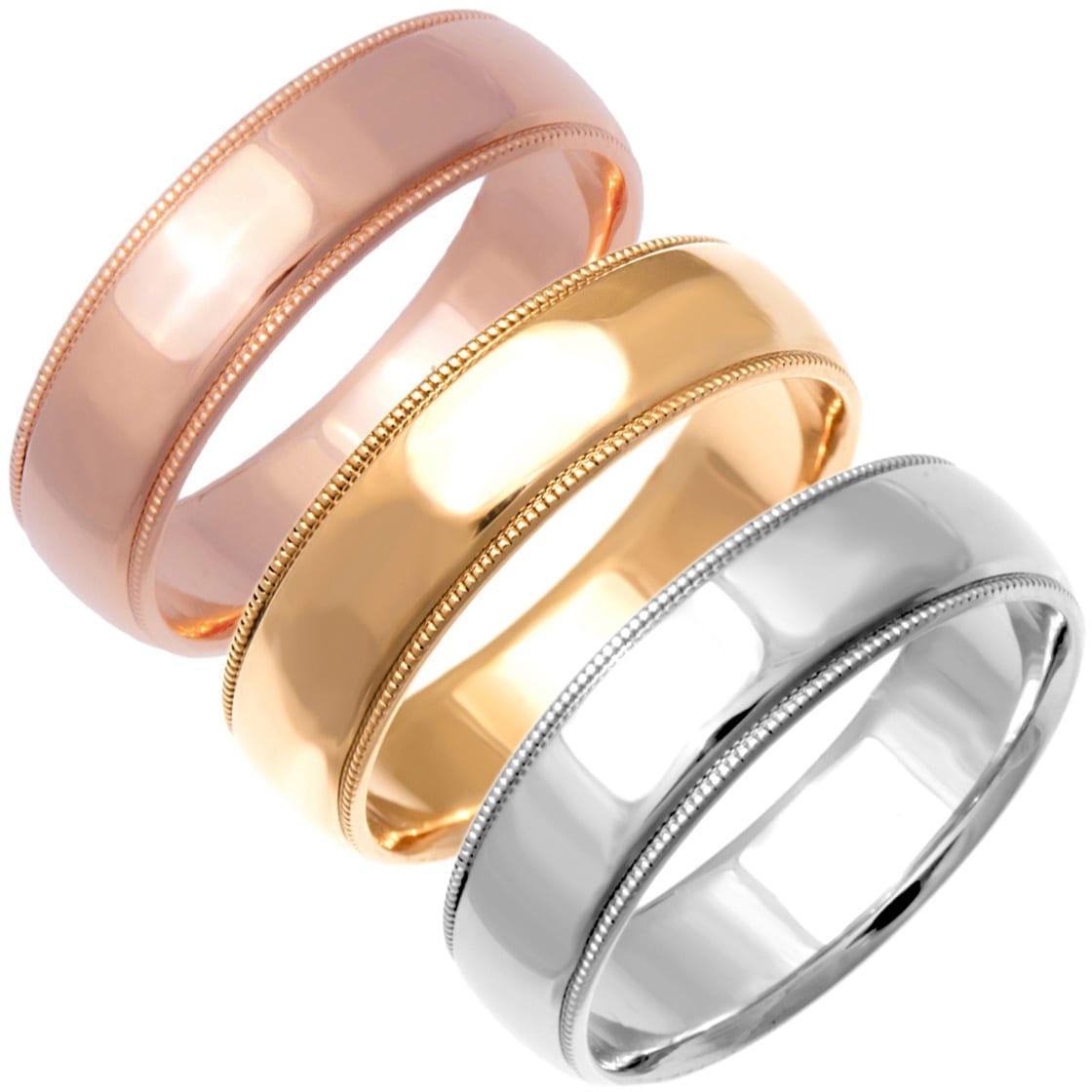 Men s Wedding Bands Groom Wedding Rings Overstock Shopping