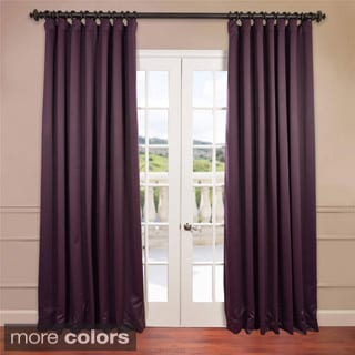 Extra Wide Thermal Blackout 96-inch Curtain Panel