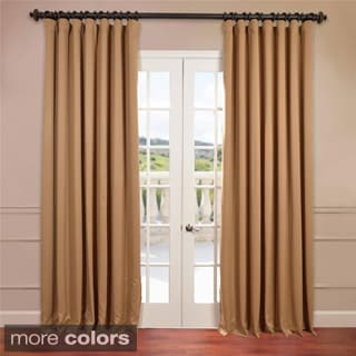 Extra Wide Thermal Blackout 120-inch Curtain Panel