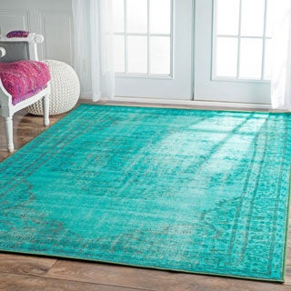 nuLOOM Vintage Inspired Fancy Overdyed Rug (9'2 x 12'5)