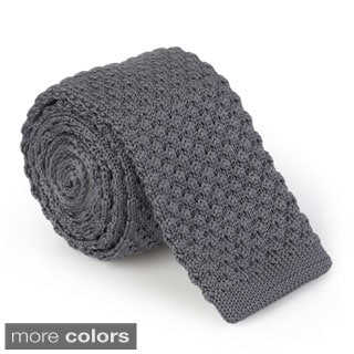 Vance Men's Solid Knit Tie