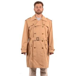 Hickey Freeman Men's 'Charles' Tan Trench Coat
