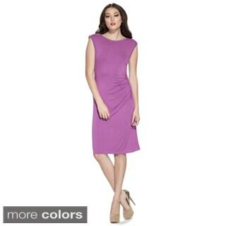 Amelia Women's Zipper-shoulder Sheath Dress