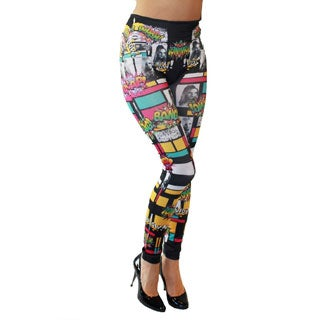 Just One Juniors 'Wham! Bang! Zam!' Seamless Leggings