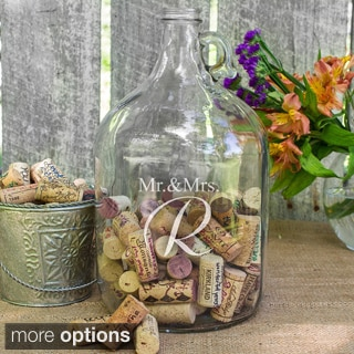 Personalized Mr. & Mrs. Wedding Wishes in a Bottle Guest Bottle