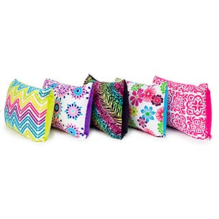 Slumber Shop Microplush Printed Queen-size Bed Pillow (Set of 2)